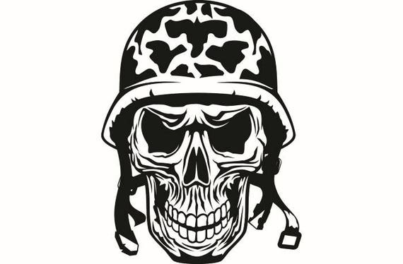 Military Clipart Coast Guard Skull Logo