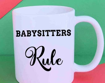 Babysitter, Babysitter Gifts, Gift for Babysitter, Best Babysitter, Gift for Sitter, Stocking Stuffer, Christmas Gift, Gift of Appreciation