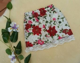 0-1 Christmas skirt