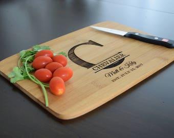 Custom Cutting Board, Personalized Cutting Boards, Engraved Cutting Boards, Cheese Board, Wedding Gift, Anniversary Gift, Housewarming Gift,