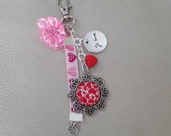 Bag charm or Keychain, love love love