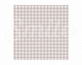 GRAY SHEPHERD'S CHECK Digital Paper for Commercial Use | 0053