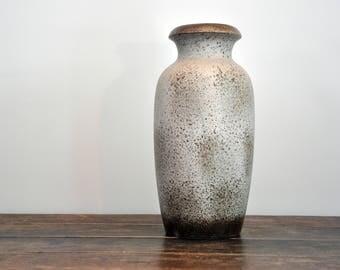 Vintage Scheurich vase, ceramic 291-38, 70 's