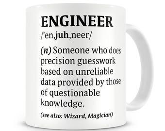Definition of an Engineer Mug Engineer Gift for Engineer Funny Engineer Mug Engineer Coffee Mug Engineer Mug Gift for Him Woman Engineer