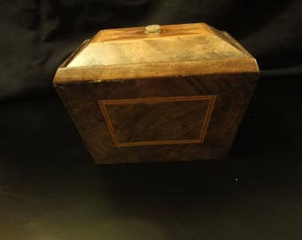 19TH century inlaid Tea Caddy