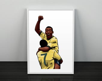 Pelé The Great - Poster Print