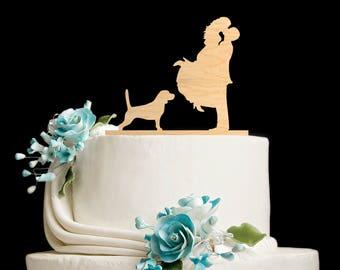 Couple silhouette Beagle wedding topper,Couple Kissing topper Beagle,Wedding cake topper dog,Beagle cake topper,Beagle silhouette,5882017