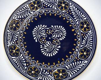 Round Plate - Blue