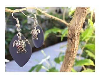 Turtle earrings :)