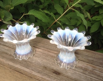 Fostoria heirloom candle holders