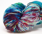 Lumos -Superwash Sock Yarn for Knitting and Crochet Hand Dyed Yarn 4 ply Fingering