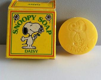 Vintage Snoopy Soap, Daisy fragrance.