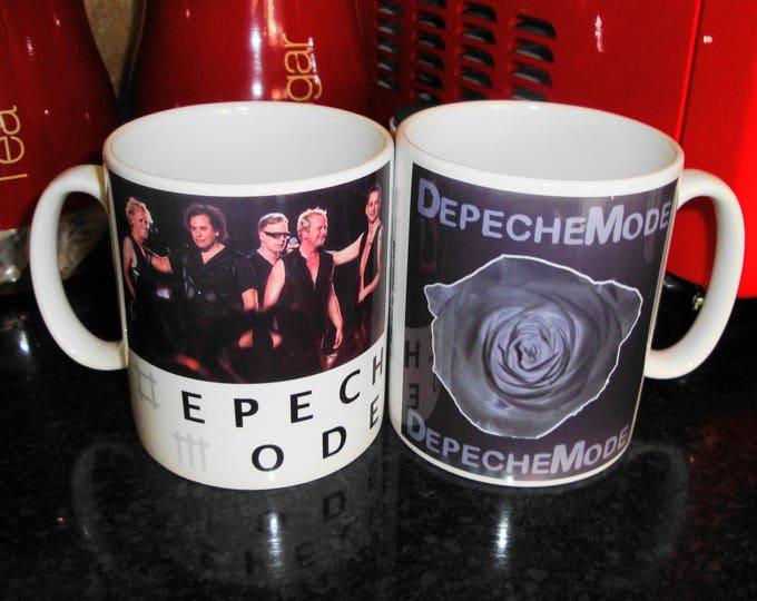 Depeche Mode White 10oz Ceramic Mug 2 Designs