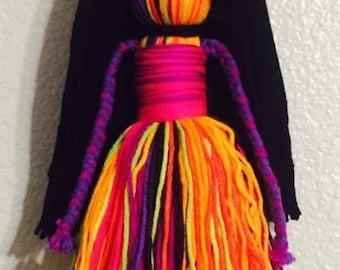 Yarn doll - (S)