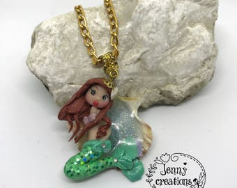 Necklace with Mermaid