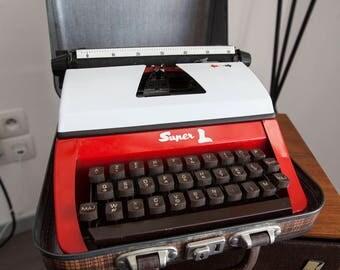 Typewriter red Lilliput children
