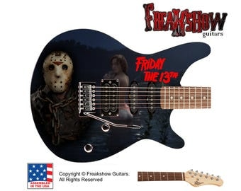 FRIDAY The 13th Electric Guitar - Free US Shipping - Jason