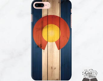 Colorado Flag iPhone 7 Case, iPhone 6s Case, iPhone 6 plus case, iPhone 6s Plus case clear phone case, Samsung Galaxy S8 Case Galaxy S7 Case