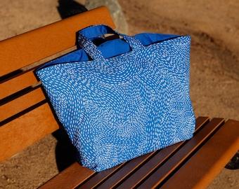 Ocean Market tote, tote bag, reusable bag