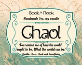 Chaol | 7oz jar | Throne of Glass Scented Soy Candle