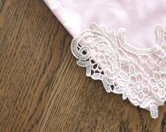 Ready made lace bandana bibs