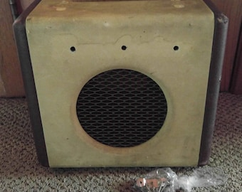 Vintage Danelectro Dirty Thirty Electric Guitar Amplifier Amp Replacement Front Back Case Body & Hardware Only Parts