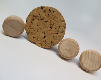 Bottle Corks Tapered x1 Large Cork Stopper x3 Tapered Wood & Cork Craft Arts