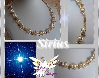 Collier SIRIUS ; son tutoriel en PDF