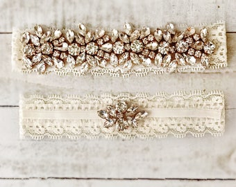 Wedding Garter, wedding garter set, NO SLIP Lace Wedding Garter Set, bridal garter