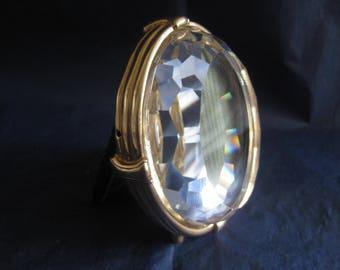 """Swarovski Crystal """"Diamond"""" Oval Photo Frame."""