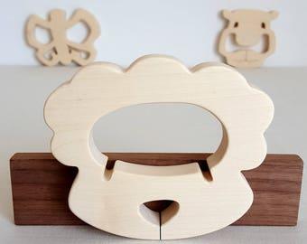 Sheep - man toy teething ring