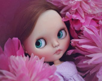 Nia•Ooak custom Blythe doll original Takara Prima dolly Ashlette