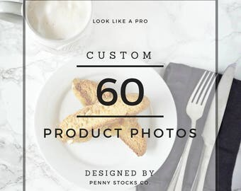 Professional Custom Styled Product Photos for 20 Products (3 each for a total of 60 photos) | Professional Product Photography