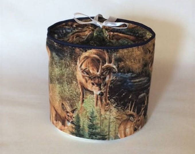 Rustic Farmhouse Bathroom Decor, Bathroom Storage, Toilet Paper Cover,