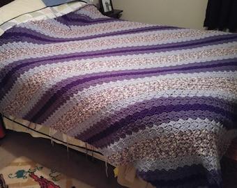 Corner-to-Corner Crochet Afghan