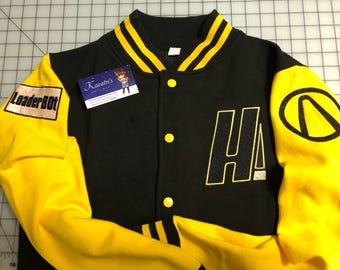 Borderlands inspired letterman jacket