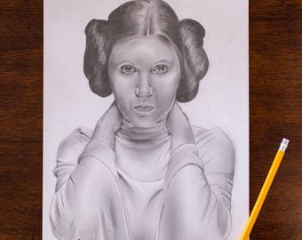 Star Wars Princess Leia Print