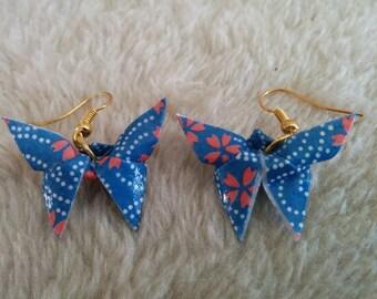 """""""Butterfly"""" earrings with Gold hook (B_008)"""