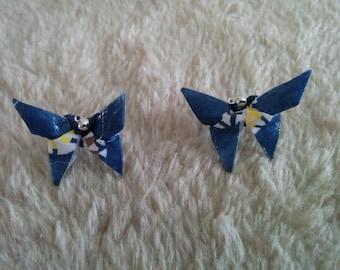 """""""Butterfly"""" earrings"""