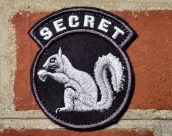 Secret Squirrel Badge Morale/Tactical Patch