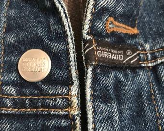 Vintage Marithe Francois Girbaud jean jacketSize large.