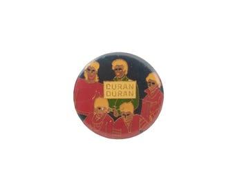 Duran Duran Pin Metal Enamel Vintage