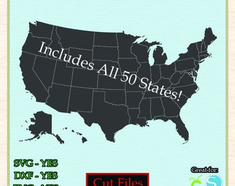 State outline Etsy