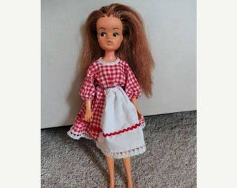 On sale Vintage 2 gen 1077 Sindy Doll Made in Hong Kong - Collectible Sindy Doll