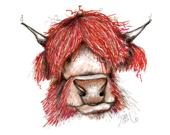 Hairy Red Cow