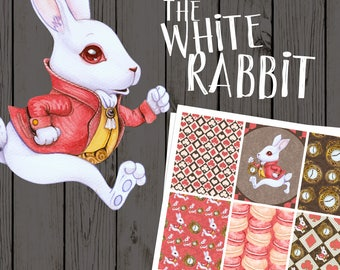 "NO COUPONS!  Preorder - September Plantasia Pack ""The White Rabbit"" Mystery Kit, Planner Kit, Please Read Description"