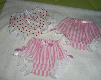 sets of two panties cotton for girl