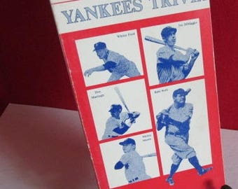 New York Yankees Trivia by Mike Getz