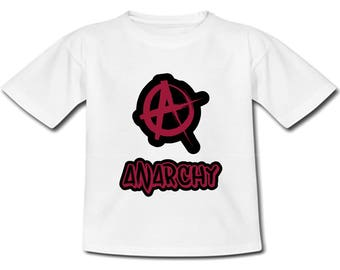 Child Anarchy T-Shirt - Sizes: baby & child