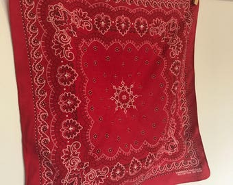 Basic red bandana II